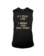 I DRINK AND GRILL THINGS Sleeveless Tee thumbnail