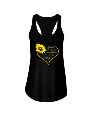 EVEN DARKNESS I SEE HIS LIGHT Ladies Flowy Tank thumbnail