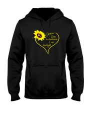 EVEN DARKNESS I SEE HIS LIGHT Hooded Sweatshirt thumbnail