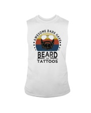 AWESOME DADS HAVE BEARDS AND TATTOOS Sleeveless Tee thumbnail