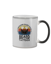 AWESOME DADS HAVE BEARDS AND TATTOOS Color Changing Mug thumbnail