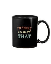 I'D SMOKE THAT BBQ WEED Mug thumbnail