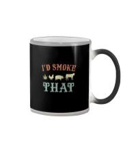 I'D SMOKE THAT BBQ WEED Color Changing Mug thumbnail