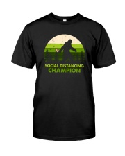 SOCIAL DISTANCING CHAMPION TOILET PAPER BIGFOOT Classic T-Shirt front