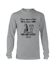 GIRL LOVED CATS AND COFFEE IT WAS ME Long Sleeve Tee thumbnail