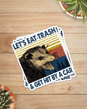 LET'S EAT TRASH AND GET HIT BY A CAR Sticker - 4 pack (Vertical) aos-sticker-4-pack-vertical-lifestyle-front-07