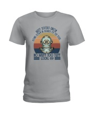 NO MUFF TOO TUFF LOCAL 69 Ladies T-Shirt tile