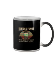 BEARDED FUNCLE noun Color Changing Mug thumbnail