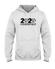 DOG PAW 2020 QUARANTINED Hooded Sweatshirt thumbnail