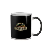 FATHERHOOD IT'S A WALK IN THE PARK Color Changing Mug thumbnail