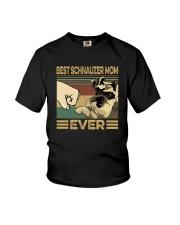 BEST SCHNAUZER MOM EVER Youth T-Shirt thumbnail