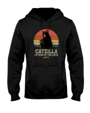 CATZILLA FATHER OF THE CATS Hooded Sweatshirt thumbnail