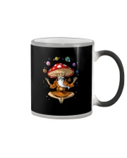 MAGIC MUSHROOMS YOGA Color Changing Mug thumbnail