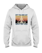 EFF YOU SEE KAY SKULL Hooded Sweatshirt thumbnail
