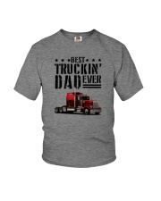 BEST TRUCKIN' DAD EVER Youth T-Shirt thumbnail