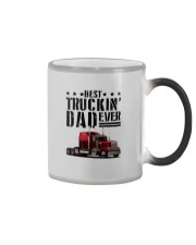 BEST TRUCKIN' DAD EVER Color Changing Mug thumbnail