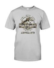 DON'T MESS WITH PAPASAURUS CAMO Classic T-Shirt front