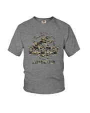 DON'T MESS WITH PAPASAURUS CAMO Youth T-Shirt thumbnail