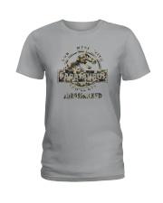 DON'T MESS WITH PAPASAURUS CAMO Ladies T-Shirt thumbnail