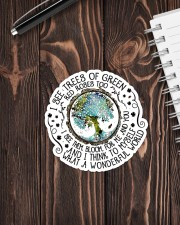 I SEE GREEN TREES Sticker - Single (Vertical) aos-sticker-single-vertical-lifestyle-front-05