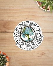 I SEE GREEN TREES Sticker - Single (Vertical) aos-sticker-single-vertical-lifestyle-front-07