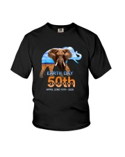 EARTH DAY 50TH ANNIVERSARY APRILL 22ND Youth T-Shirt thumbnail