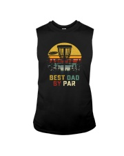 BEST DAD BY PAR DISCGOLF Sleeveless Tee thumbnail