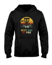 BEST DAD BY PAR DISCGOLF Hooded Sweatshirt tile