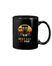 BEST DAD BY PAR DISCGOLF Mug thumbnail