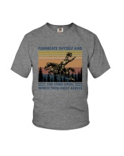 FORNICATE THYSELF Youth T-Shirt thumbnail