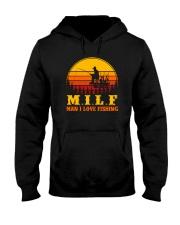 MILF MAN I LOVE FISHING VINTAGE Hooded Sweatshirt thumbnail