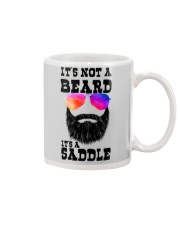 IT'S NOT A BEARD IT'S A SADDLE Mug thumbnail