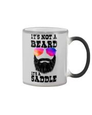 IT'S NOT A BEARD IT'S A SADDLE Color Changing Mug thumbnail