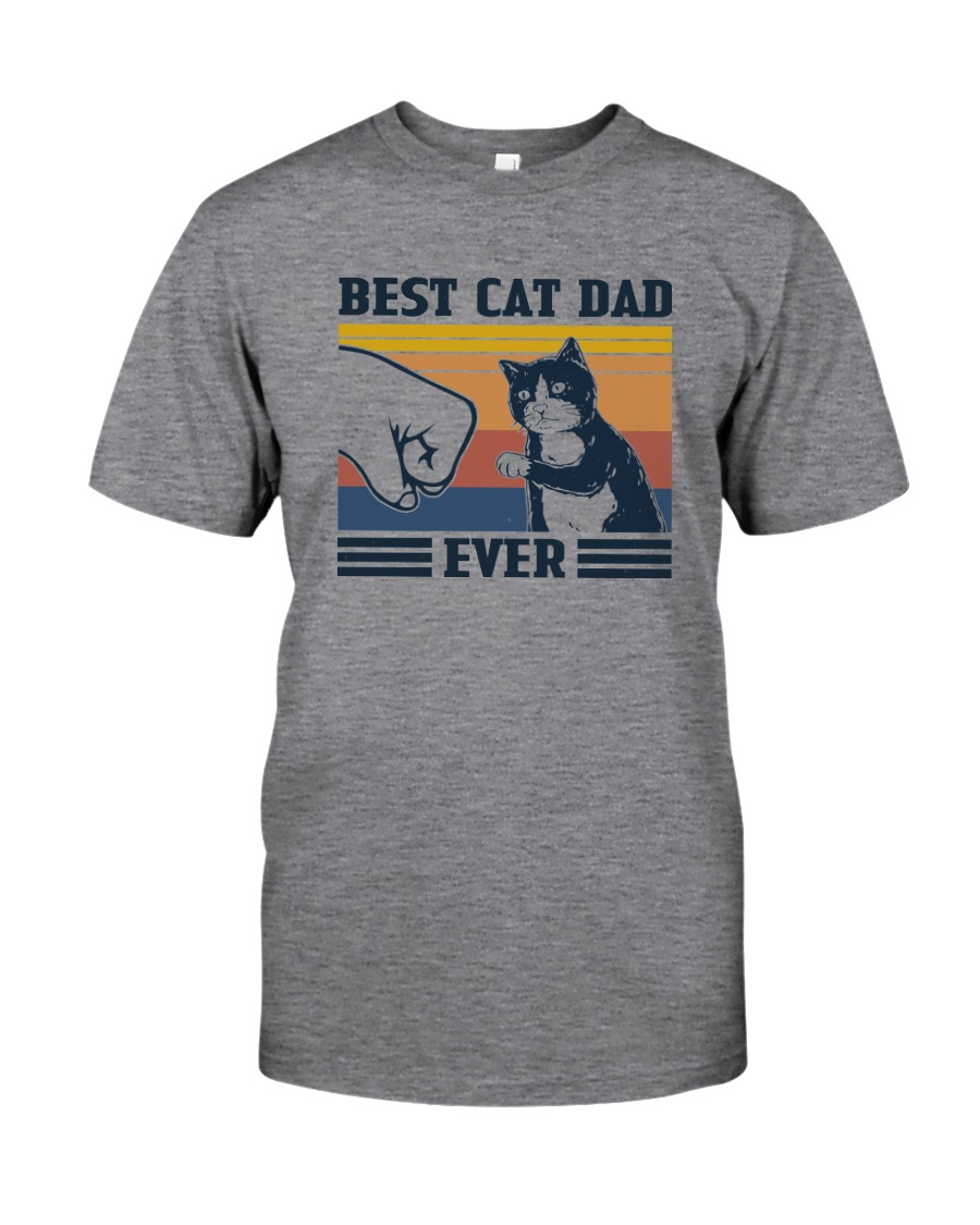 BEST CAT DAD EVER VINTAGE Classic T-Shirt
