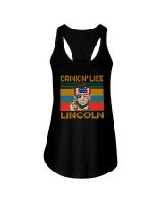 DRINKIN' LIKE LINCOLN Ladies Flowy Tank thumbnail