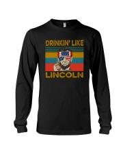 DRINKIN' LIKE LINCOLN Long Sleeve Tee thumbnail