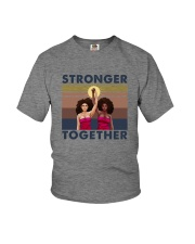 STRONGER TOGETHER Youth T-Shirt thumbnail