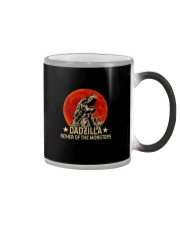 DADZILLA FATHER OF THE MONSTERS  Color Changing Mug tile
