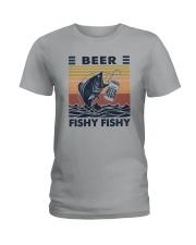 BEER FISHY FISHY Ladies T-Shirt thumbnail