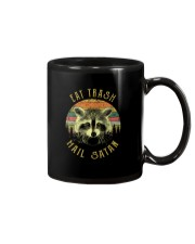 EAT TRASH HAIL SATAN Mug thumbnail