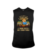 READ BOOKS DRINK COFFEE AND KNOW THINGS Sleeveless Tee thumbnail