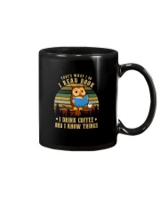 READ BOOKS DRINK COFFEE AND KNOW THINGS Mug thumbnail