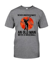 old man baseball Classic T-Shirt tile
