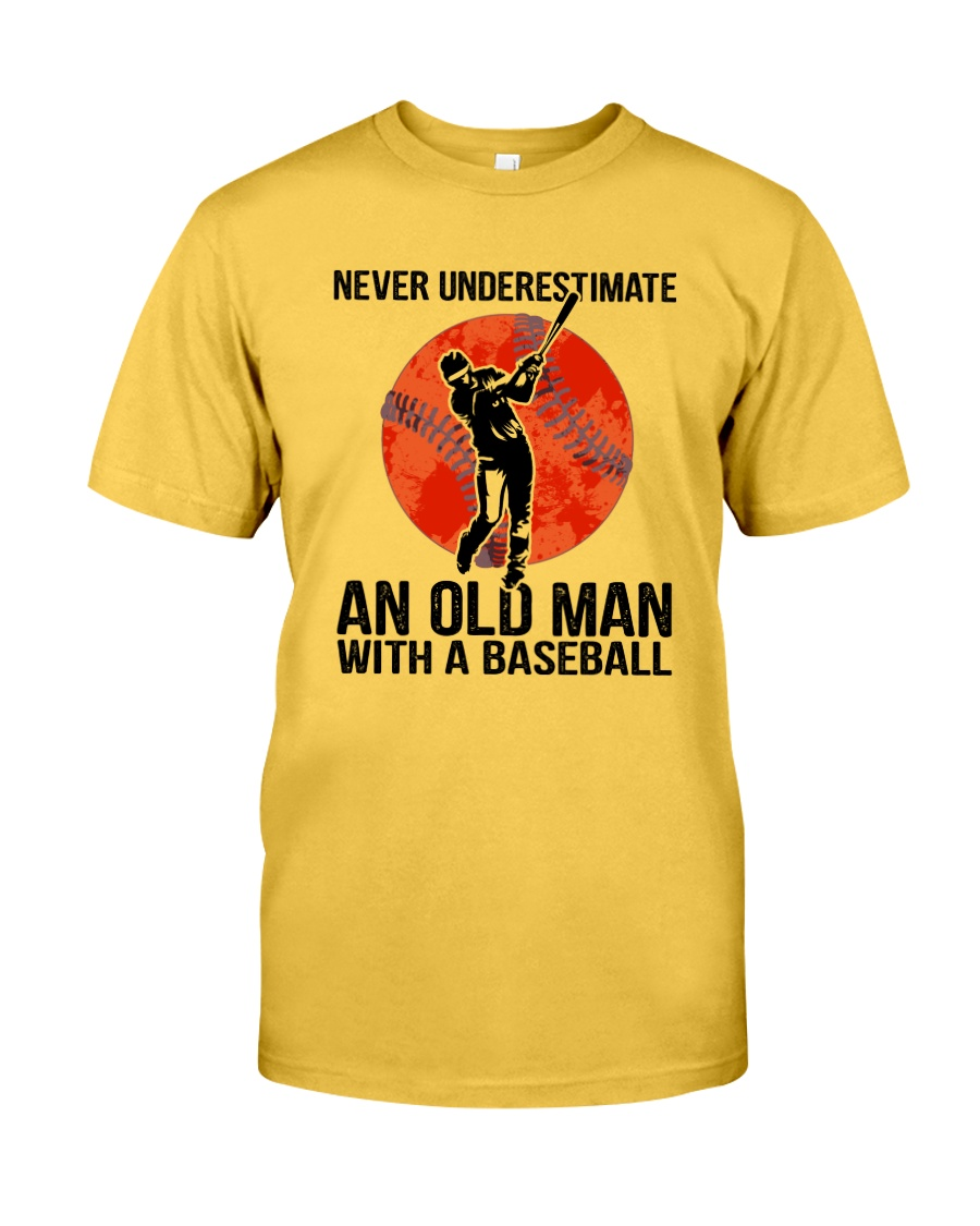 old man baseball Classic T-Shirt