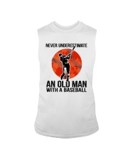 old man baseball Sleeveless Tee thumbnail