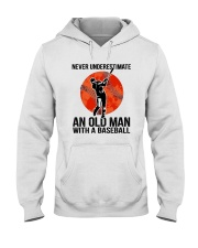 old man baseball Hooded Sweatshirt thumbnail