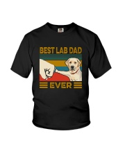 BEST Labrador Retriever DAD EVER Youth T-Shirt thumbnail