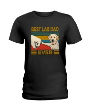 BEST Labrador Retriever DAD EVER Ladies T-Shirt thumbnail