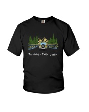 MOUNTAINS TRAILS JEEPS Youth T-Shirt thumbnail