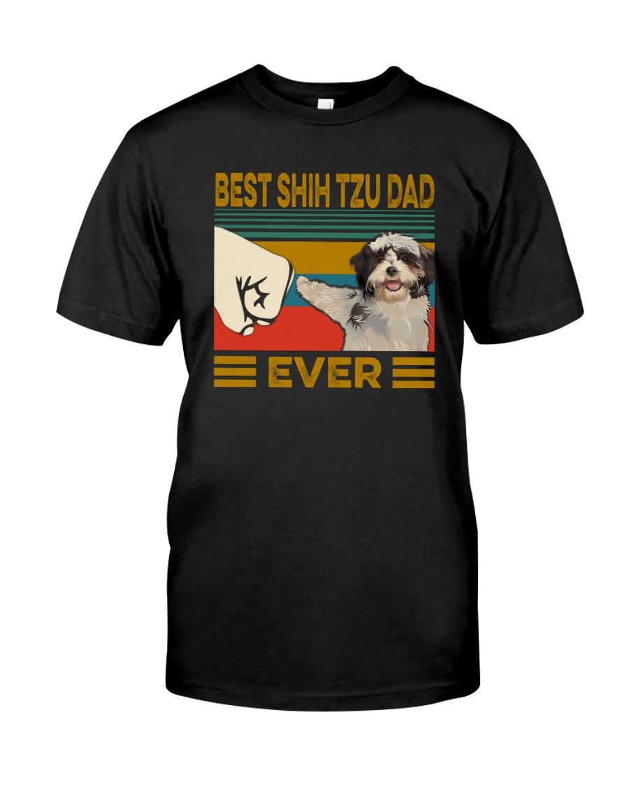 BEST Shih tzu DAD EVER Classic T-Shirt